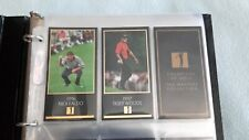 1997 MASTERS  GRAND  SLAM VENTURES GOLD FOIL SET WITH MINT TIGER ROOKIE