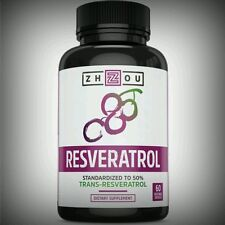 Pure All Natural High Potency Resveratrol Immune Heart Anti-Aging Antioxidant