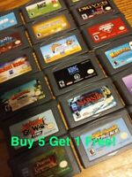 NINTENDO GBA GAMES LOT YOU CHOOSE YOUR OWN BUNDLE TESTED GAMEBOY ADVANCE