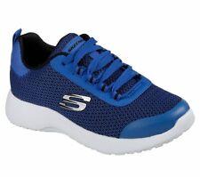 NEU SKECHERS Jungen Sneakers DYNAMIGHT Sportschuhe Trainingsschuhe Blau