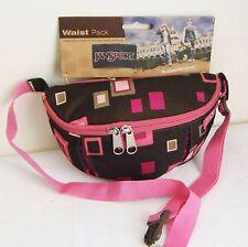 Brown pink Pride Festival Jansport Jan Sport Bum Bag Waist Fanny Travel Bag