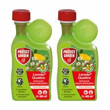 Protect Garden 2x 400 ml Loredo Quattro Universal-Rasenunkrautfrei Rasen Unkraut