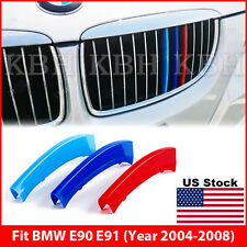M-Tech Kidney Grille 3 Colour Cover Clips for BMW 3 Series E90 E91 2004-2008