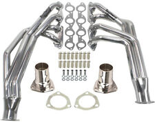 BIG BLOCK CHEVY CHASSIS HEADERS,55-57 CHEVY,396-502CI,CHROME PLATED,ENGINE SWAP