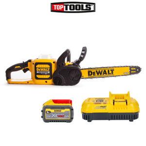 Dewalt DCM575X1 54v XR FLEXVOLT Brushless Chainsaw + 1x DCB547 Battery & Charger