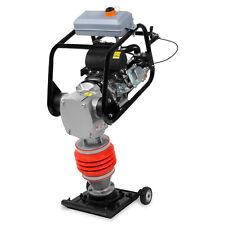 EBERTH 10kN Vibrationsstampfer Benzinmotor Grabenstampfer Verdichter Stampfer