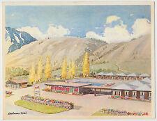 Sportsman Motel, Dining Room & Shell Garage, Spence Bridge, British Columbia