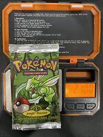 Pokemon Jungle Booster Pack HEAVY SCYTHER  1999 21 grams