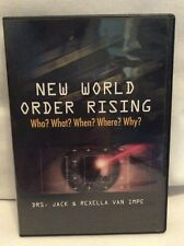 New World Order Rising Who? What? When? Where? Why? Dr Jack Rexella Van Impe T70
