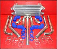 Biturbo Twincooler Ladeluftkühler LLK inkl. Anschlußkit NISSAN BMW AUDI BIG SET