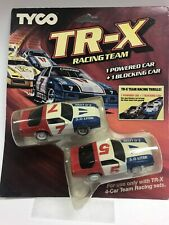 Tyco TR-X Racing Team Camaro Z28 #7 #5 set of HO Slot Cars