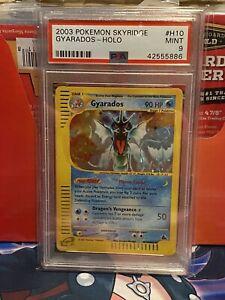 2003 Pokemon Skyridge Holo PSA 9 Mint Gyarados H10 E Reader