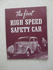 Original 1935 Plymouth automobile advertising booklet