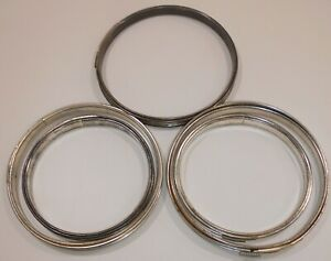 """5 Metal Embroidery Hoops Cork Lined Spring Tension All  Round 3 @ 6"""" and 2 @ 5"""""""