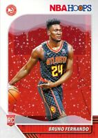 Bruno Fernando RC 2019-20 Panini NBA Hoops Holiday Winter Rookie Card #228 Hawks