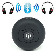 Bluetooth Transmitter and Splitter Stereo Audio Music 1 to 2 AUX 3.5mm Fr TV MP3