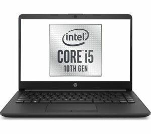 """HP 14-cf2502sa 14"""" Full HD Laptop Quad Core Intel i5 4GB 256GB SSD 16GB Optane"""