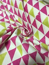 """CLARKE & CLARKE """"PRISM"""" 100% COTTON CANDY FABRIC 10 METRES"""