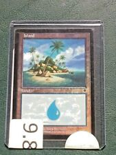 Magic the Gathering INVASION unplayed ISLAND *foil* #335 ALL Grading 9.8