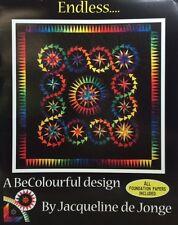"""ENDLESS Foundation Paper Piecing Quilt Pattern by Jacqueline de Jorge 58"""" x 58"""""""