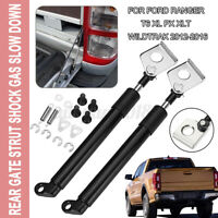 2PCS GATE STRUT SHOCK GAS SLOW DOWN FOR FORD RANGER T6 XL PX XLT WILDTRAK