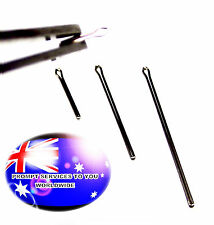 From OZ Quality 2PC WATCH SPLIT PIN BAR ALL SIZES REPLACEMENT STAINLESS STEEL +