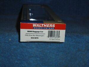 WALTHERS HO SCALE #932-5876 B60B BAGGAGE CAR PRR (POST WAR MESSENGER)