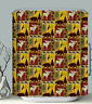 Lodge Fabric SHOWER CURTAIN Bear Moose Fish Rustic Cabin Wildlife Northwood Camp