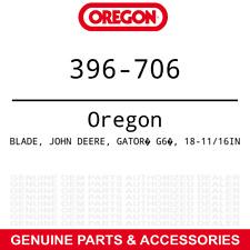 "Oregon 396-706 Gator G6 Blades John Deere 325 335 345 425 445 G100 w/ 54"" 3-PACK"