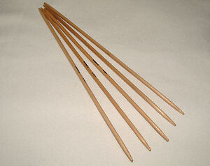 Surina Bamboo Wooden Double Pointed Needles Set 3.25mm