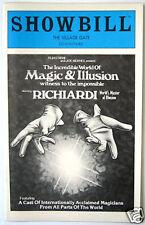Richiardi's World Of Magic & Illusion Showbill