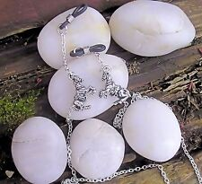 Lovely Silver Finish Horse Spectacle Glasses Chain. Reading Fashion Free P&P