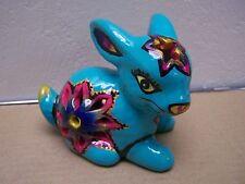 Toluca Ceramic Bunny Rabbit Luminaria - Mexico