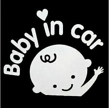 BABY ON BOARD STICKER DECAL BABY IN CAR SIGN  Made in USA