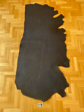 Vegetable Tanned Leather 4,5-5,3 mm Black Crust Side Full Grain High quality Cow