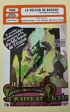 British Fantasy Movie The Thief of Bagdad  Sabu French Film Trade Card