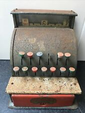 Vintage CODEG Metal Cash Register, Till, Toy, Working Order, Made In England