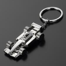 Creative Alloy Metal Keyfob Gift Car Keyring F1 Racing Keychain Key Chain Rings