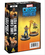 Luke Cage and Iron Fist Marvel Crisis Protocol Asmodee NIB 6/11