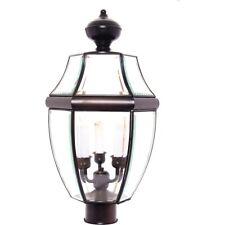 Maxim South Park 3-Light Outdoor Post Lantern Burnished - 6098CLBU