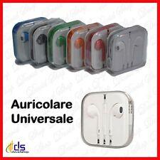 Cuffie auricolari per smartphone cellulari universali con filo cavo e microfono