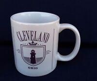 Cleveland Ohio Coffee Mug Collectible Travel Souvenir Buckeye State