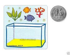 15 Make A Fish Tank Aquarium Stickers Party Goody Loot Bag Filler Favors Supply