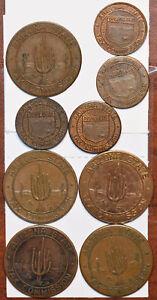 1940 ~70 group of Arizona Sales Payment Tokens BU0555 combine