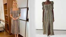 & other stories leopard print dress, size 8