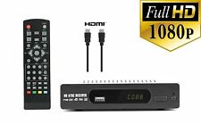 Digital TV Converter Box View and Record Over the Air Channels w/ HDMI Cable