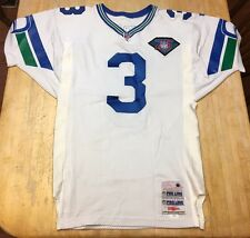 RARE Mens Vintage Seattle Seahawks Rick Mirer Wilson STITCHED Jersey Size 44