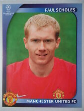 Panini 18 Paul Scholes Manchester United UEFA CL 2008/09