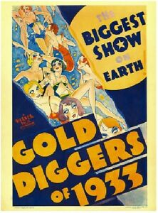 Gold Diggers of 1933 - Ginger Rodgers Joan Blondell LeRoy Pre Code Musical DVD