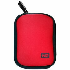 Western Digital WD Genuine My passport soft pouch 2.5 hdd Neoprene case (RED)